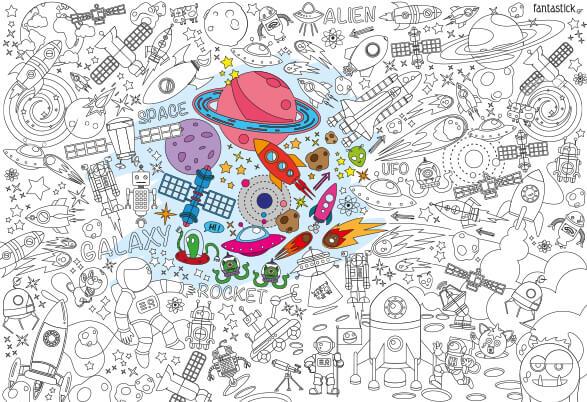 Διάστημα - Super Χρωμοαφίσα