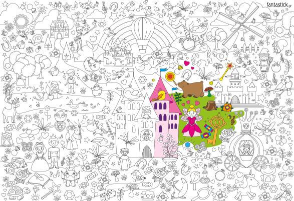 Παραμύθι - Super Χρωμοαφίσα