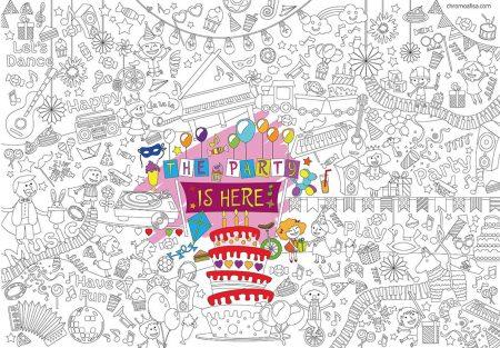 Πάρτυ - Super Χρωμοαφίσα