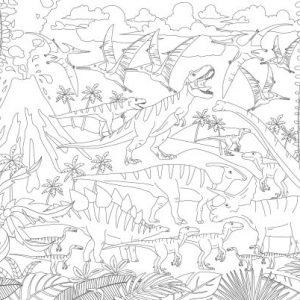 Δεινόσαυροι - Super Χρωμοαφίσα
